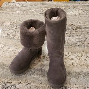 Ugg Classic Tall Ii Women's Winter Boots Gray 8